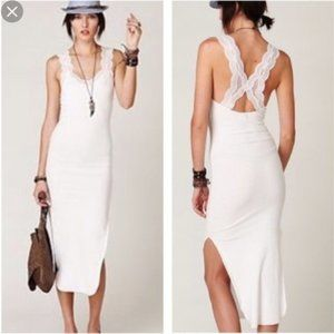 Free People Ribbed Slip Maxi Dress